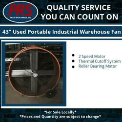 43quot; Used Portable Industrial Warehouse Fan $300.00