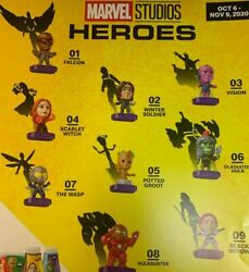 2020 McDONALD#x27;S Marvel Studios Heroes HAPPY MEAL TOYS Choose Toy or Set $19.99