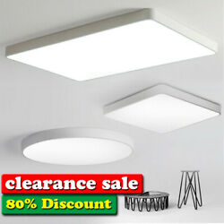LED Ceiling Down Light Ultra Thin Flush Mount Kitchen Lamp Home Fixture 20W 72W