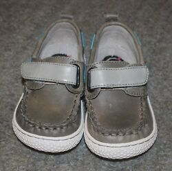 Livie amp; Luca Baby Boys Vintage Stone North Shoes Size 7 NEW NO BOX $34.99