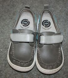 Livie amp; Luca Toddler Boys Vintage Stone North Shoes Size 12 NEW NO BOX $34.99
