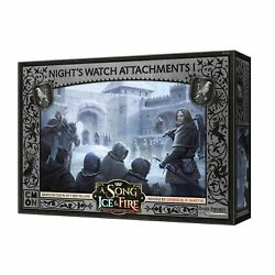 A Song of Ice and Fire: TMG: Night#x27;s Watch Attachments #1 PREORDER $28.00
