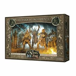 A Song of Ice and Fire: TMG: Free Folk Attachments #1 PREORDER $28.00