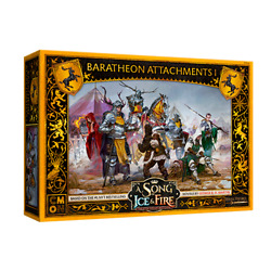 A Song of Ice and Fire: TMG: Baratheon Attachments #1 PREORDER $28.00
