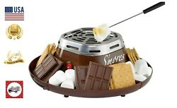 Indoor Electric Stainless Steel Machine 4 compartments for crackers chocolate $28.99