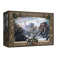 A Song of Ice and Fire: TMG: War Mammoths PREORDER $28.00
