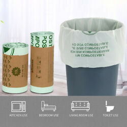 50pcs Kitchen Biodegradable Garbage Bags Compostable Bags Degradable GarbageY`US $8.51
