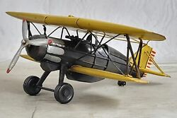 Retro Airplane Vintage Plane Home Deco Miniature Antique Aircraft Figurine Sale $49.00
