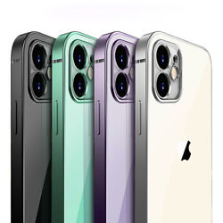 SHOCKPROOF plating clear Case For iPhone 12 11 Pro MAX Mini XR XS 7 8 PLUS Cover $6.99