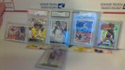 Tom Brady and Rob Gronkowski rc and autotampa bay 70 brady cards $450.00