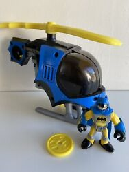 Imaginext Batman Helicopter Figure Yellow GBP 18.95