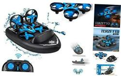 Mini Drone 3 in 1 RC Boat Beginners Indoor Remote Control Car Small Helicopter P $63.27
