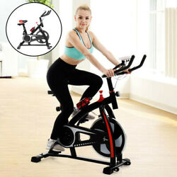 Exercise Bicycle Indoor Bike Cycling Cardio Adjustable Gym Workout Fitness Home $158.99