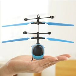 Suspension Induction Helicopter Toys for kids best funny Aircraft IR automatic $13.66