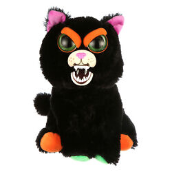 Feisty Pets 10quot; Plush Cranky Cathy Squeeze Black Cat Brand New Free Shipping $14.95