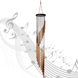 35#x27;#x27; Wind Chimes 18Tubes Outdoor Large Deep Tone for Garden Patio Balcony Decor $11.99