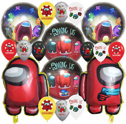 AMONG US balloon Cupcake Topper Birthday Party Decoration Supplies SPACE BRACELE $7.99