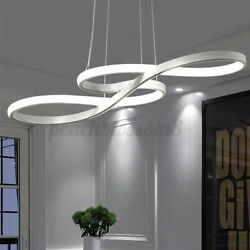 Acrylic Modern LED Ceiling Light Lamp Pendant Dining Room Dimmable Fixture $74.60