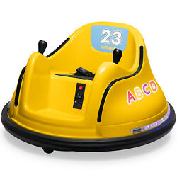 Kidzone 9 Colors 12V Kids Electric Ride On Bumper Car 360 Spin ASTM Certified $199.96