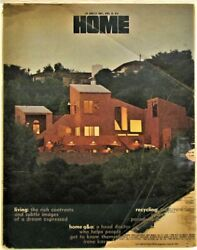 1975 Los Angeles Times Home Magazine Mid Modern Architecture Charles Moore $5.99