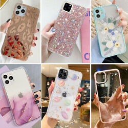For iPhone 13 Pro Max 12 11 XR 7 8 Plus XS Max Case Bling Cute Shockproof Cover $7.98