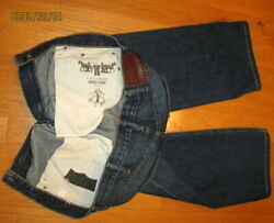 LEVI#x27;S 514 FOR BROOKS BROTHERS quot;FLINTquot; MEN#x27;S RELAXED JEANS SIZE 38 X 32 MADE USA $37.99