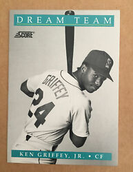 1991 SCORE KEN GRIFFEY JR DREAM TEAM #892 DT 12 Of 13 $0.99