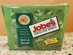 JOBE#x27;S FERTILIZER SPIKES TREE amp; SHRUBS 12 SPIKES FEEDS FOR 90 DAYS $18.99