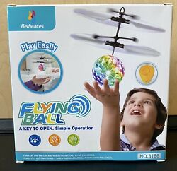 Flying Ball Drone Helicopter Ball With Shining LED Lights Perfect GIFT $5.00
