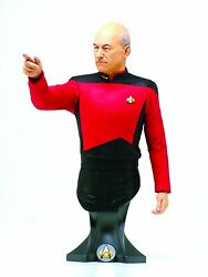 Masterpiece Collection Maxi Bust: Star Trek Captain Jean Luc Picard $59.99
