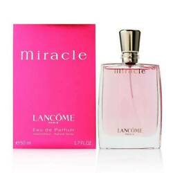 MIRACLE 1.7 EDP SPRAY FOR WOMEN BY LANCOME NEW IN A BOX 100 % Authentic $49.95