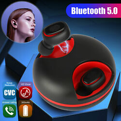 Wireless Bluetooth Earbuds Headset Stereo LED Touch Headphones Noise Cancelling $13.98