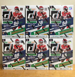 2019 DONRUSS NFL FOOTBALL SEALED BLASTER BOX MURRAY JONES METCALF PRIZM RC 88 $49.95