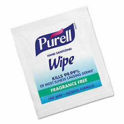 50 Individually Wrapped Purell Hand Sanitizing Wipes Fragrance Free $12.99