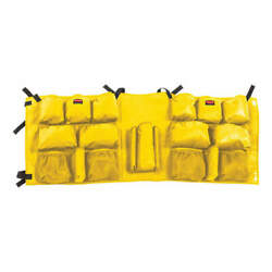 RUBBERMAID COMMERCIAL PRODUCTS 2032951 Caddy BagYellow Slim Jim