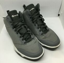 Gray Champion High Top Basketball Sneaker Shoes Size 11 $29.99