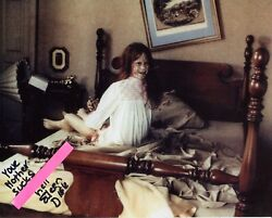 The Exorcist horror movie photo signed by Eileen Dietz with RARE QUOTE UACC GBP 150.00