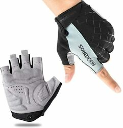 Cycling Bike Gloves Half Finger Shockproof Breathable MTB Bicycle Sports Gloves $9.99