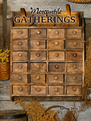 Mercantile Gatherings LOT of 8 Magazines 2016 2017 Country Primitive Home Decor $55.00