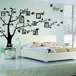 Wall Diy 3D Photo Tree Mural Decal Family Frame Home Decor Art Stickers PVC Room $18.69