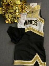 Costume for girls for cheerleading 6 and 7 years $39.99