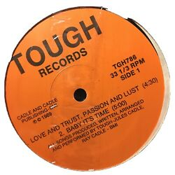 💥 LOVE AND TRUSTPASSION AND LUST 12#x27;#x27; PRIVATE RARE ELECTRO BOOGIE FUNK JAM $10.00
