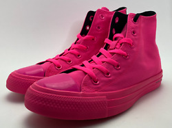 Size 5 Mens Converse x OPI Chuck Taylor All Star High Top Sneaker 165658C Pink $38.99
