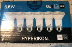 Hyperikon LED PAR16 Dimmable Light Bulb 6.5W=40W Spot Lighting E26 Base CRI84