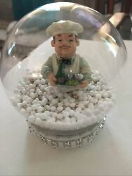 New Fat chef kitchen decor Snow Glow Custom Made One Of A Kind Free Shipping $16.00