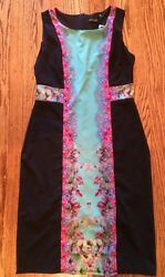 NWT Women's Small Designer Black Dress By McLaire $23.50