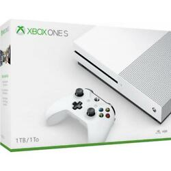 Microsoft Xbox One S 1TB Console White Xbox One S Console And Controller AMD $359.99