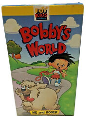 Bobby#x27;s World: Me And Roger VHS RARE FOX KIDS ANIMATED CARTOON HOWIE MANDEL $17.99