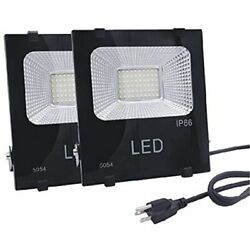 LED Outdoor Flood Light 50W 250W Equivalent 4500lm 6000K Daylight White Bright