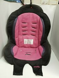 Evenflo Tribute 2014 Booster Seat Fabric Cover Booster Pink Black $9.60